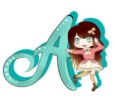 anime chibi theme alyanna chibi letter theme may by rica desu on deviantart