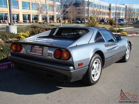 This is a full ferrari approved used car. 1989 Ferrari 328 GTS | Grigio Metallic w/ Grey | 3.2L V8 ...