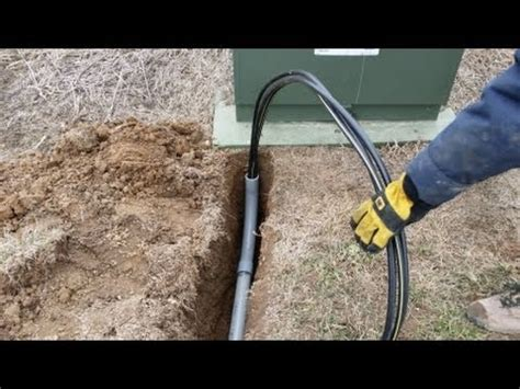 Diy Pulling Buriable Electrical Through Pvc Youtube