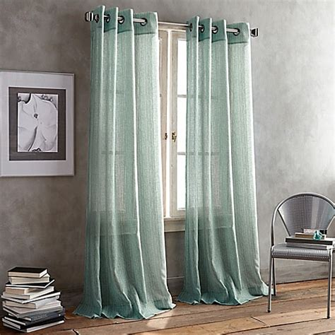 dkny curtains drapes buy dkny parkside grommet 84 inch window curtain panel in