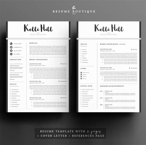 The Resume Boutique by The World S Catalog Of Ideas