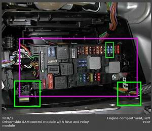 W211 Fuse Box Location