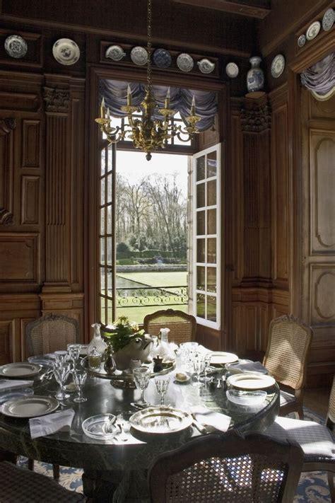 la salle 224 manger chateau de courances interiors style