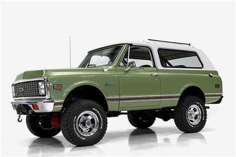 Chevy Blazer Prototype by 1972 Chevrolet Blazer Hiconsumption