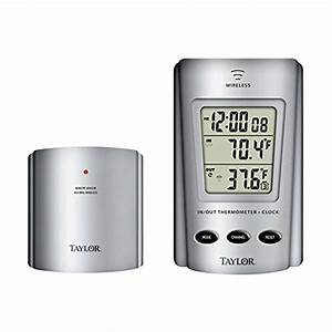 Taylor Weatherguide Wireless Indoor  Outdoor Thermometer