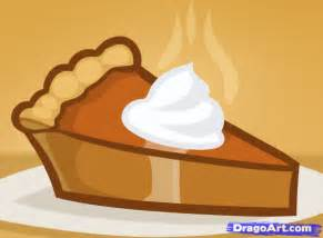 How to Draw a Easy Cartoon Pumpkin Pie