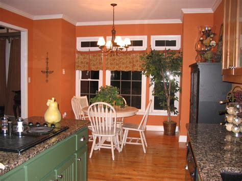 Kitchen Paint Color Pumpkin by My Pumpkin Orange Kitchen Kitchen And Living Room Color