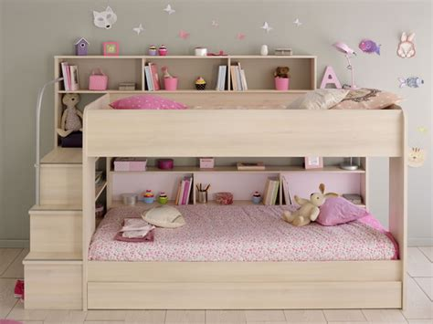 the bed storage shelves kids avenue bibop 2 bunk bed with storage shelves the home and office stores