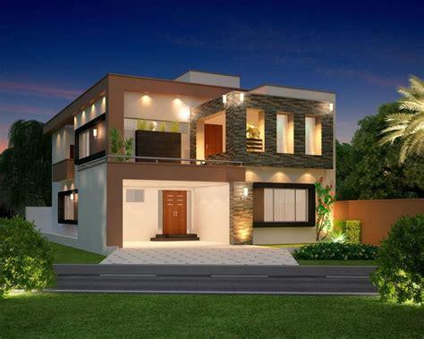 home architect plans 10 marla modern home design 3d front elevation lahore