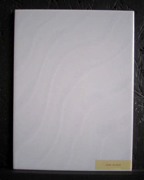 Mosa Keramik Wandfliesen 15x20 Cm Weiss Mit Wellenmuster