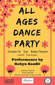 UofA Augustana: News & Events: All Ages Dance Party ...