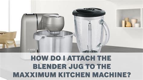 Blender Jug-bosch Maxximum Kitchen Machines Accessories