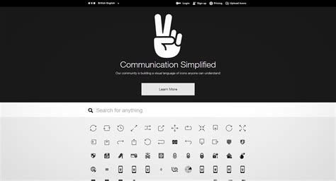 the noun project template free web icons for web designer baliwebcreator