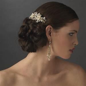 Petite Pearl Bridal Comb Elegant Bridal Hair Accessories