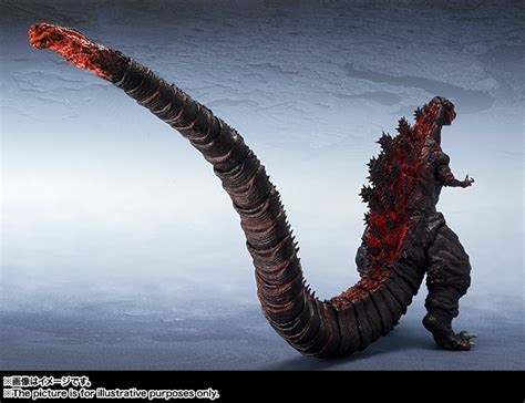 S.h. Monsterarts Shin Godzilla Official Images & Info