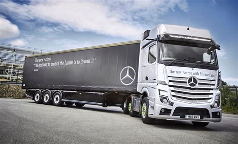 mercedes benz actros improved safety efficiency