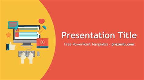 content marketing powerpoint template prezentr