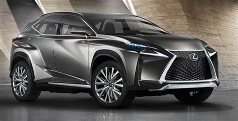 cool suv lexus lexus lf nx crossover hybrid concept aims at compact suv