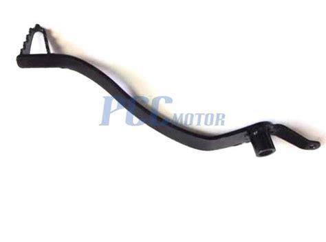 Black Brake Pedal Honda Crf50 Sdg 107 Ssr 125 For Disc Brake