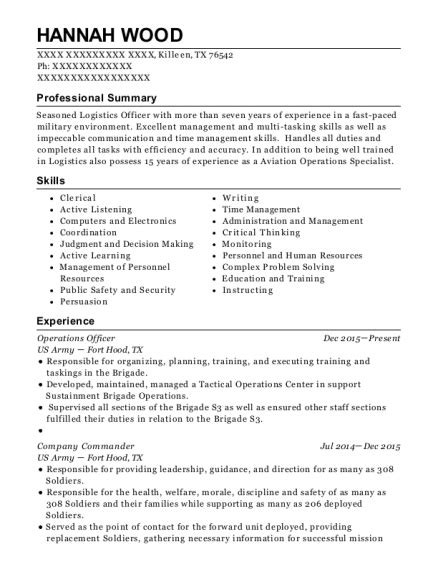 Army Sergeant Resume best drill sergeant resumes resumehelp