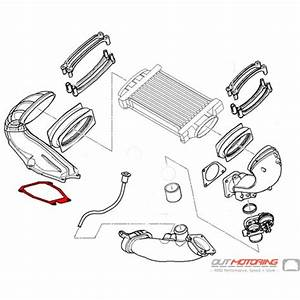 17511520044 Supercharger Outlet Gasket Mini Cooper