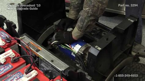 club car precedent high speed motor upgrade