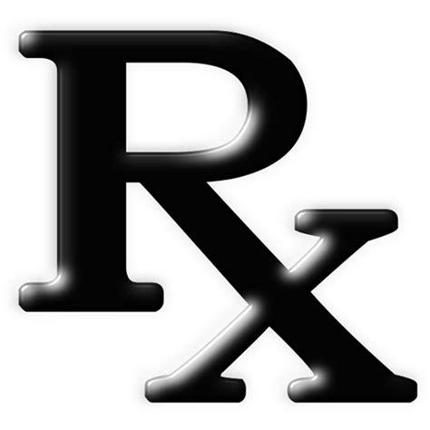 Rx Clipart Rx Pharmacy Symbol Black Clipart Image Ipharmd Net