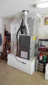 New Trane Gas Furnace Install  Melbourne  Fl