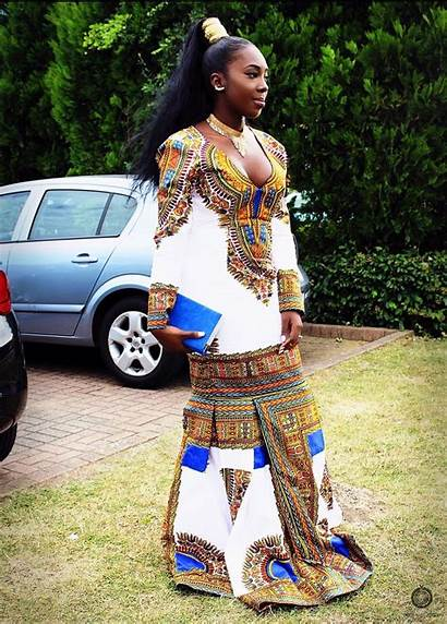 Prom African Dashiki Clothing Elegant