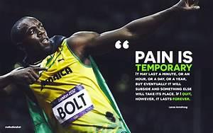 #Usain Bolt, #running, #motivational, #quote, #sport ...