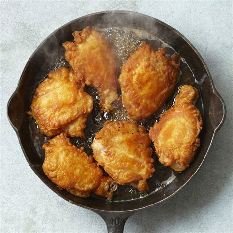 chicken fried skillet recipes pan cast iron recipe food frying cooking southern oven rachael meals ray rachaelraymag healthy meal greasy