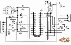 The Principle Diagram Of Integral Adapter - Basic Circuit - Circuit Diagram