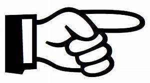 Finger Pointing Right Clipart (38+)