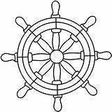 Wheel Ship Steering Ships Pirate Boat Glass Stained Patterns Clip Drawing Clipart Coloring Nautical Cliparts Darryl Anchor Wheels Template Modelli sketch template