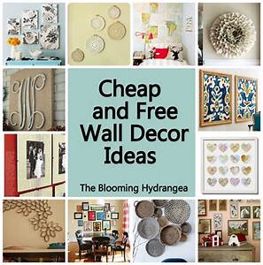 cheap free wall decor ideas roundup With cheap wall decor