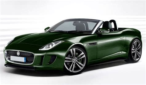 Green Jaguar Car 2014 jaguar f type redesign 2014 jaguar f type green top
