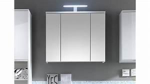 Badezimmer Spiegelschrank Led : spiegelschrank spice badezimmer bad schrank wei mit led ~ Indierocktalk.com Haus und Dekorationen