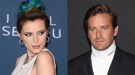 Bella Thorne Defends Armie Hammer Amid Cannibalism DM ...