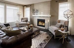 Wohnzimmer Einrichten Modernes Designer Sofa Aus Leder