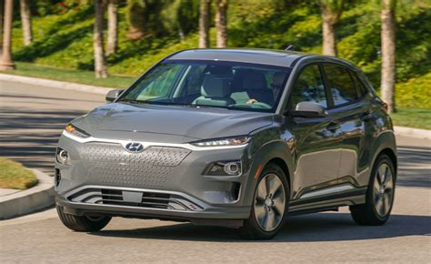 2019 Hyundai Kona Ev Gets 250 Miles Of Range