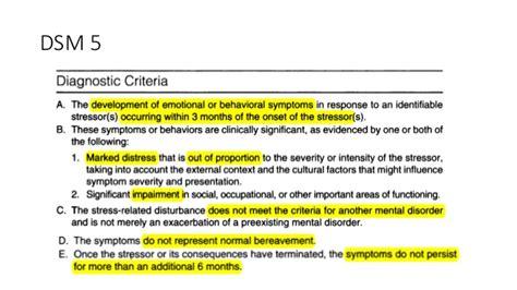 adjustment disorder liberal dictionary