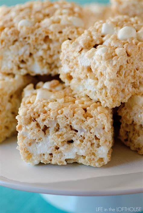 desserts to make with rice krispies rice krispie treats archives life in the lofthouse