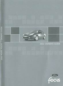 2002 Ford Focus Owners Manual User Guide Reference