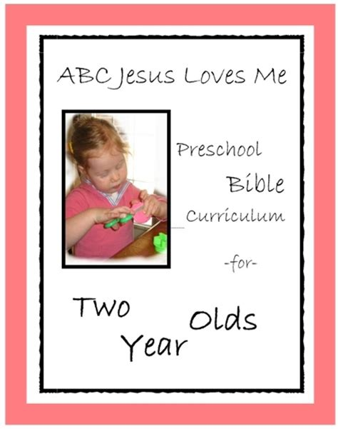bible based preschool curriculum 2 year ideas for my children 98678