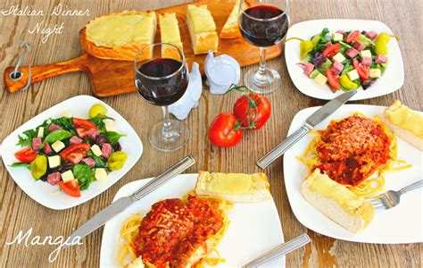 what to for dinner mangia italian dinner night the complete savorist