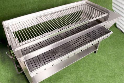 edelstahl grill holzkohle deluxe edelstahlgrill holzkohle edelstahl grill kohle grillwagen ebay