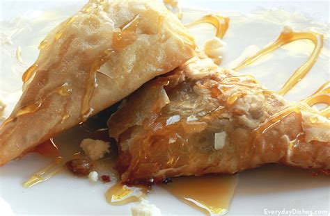 Simple phyllo (filo) dough, made with four ingredients only. Easy Phyllo Dough with Honey Dessert Recipe