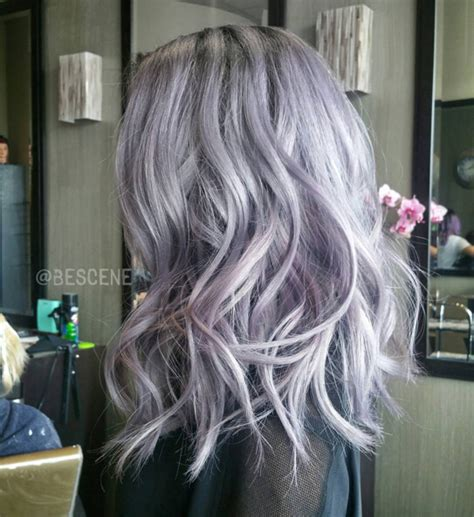 edgy  hair color  medium length hair popular haircuts