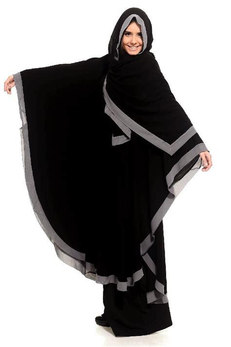colored abaya collection  arzu ergen black
