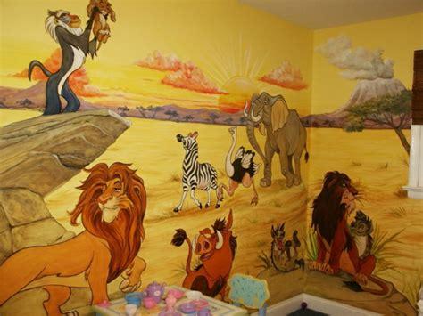 Babyzimmer Wandgestaltung Tiere by Wandmalerei Im Kinderzimmer Ein Entz 252 Ckendes Ambiente